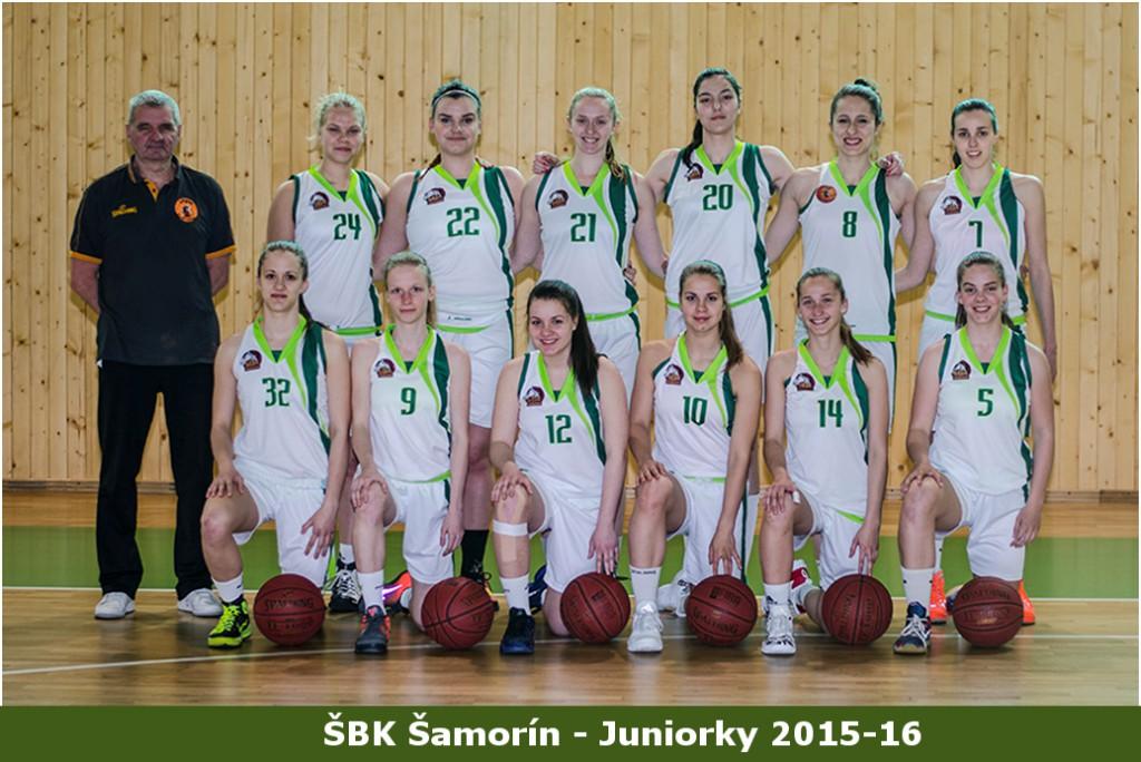 Juniorky csapat